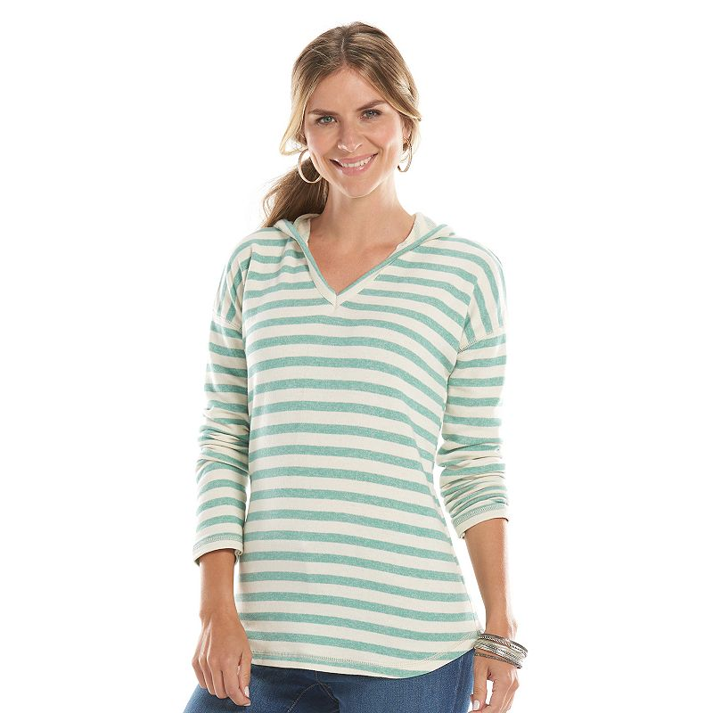 Chaps French Terry Hoodie - Women's