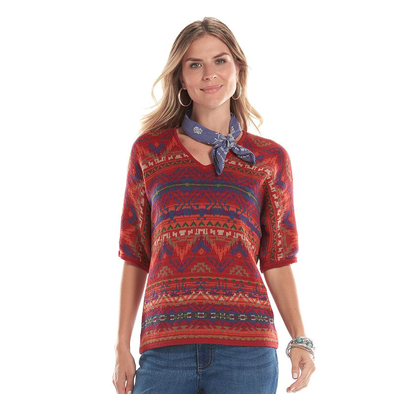 Women's Chaps V-Neck Sweater