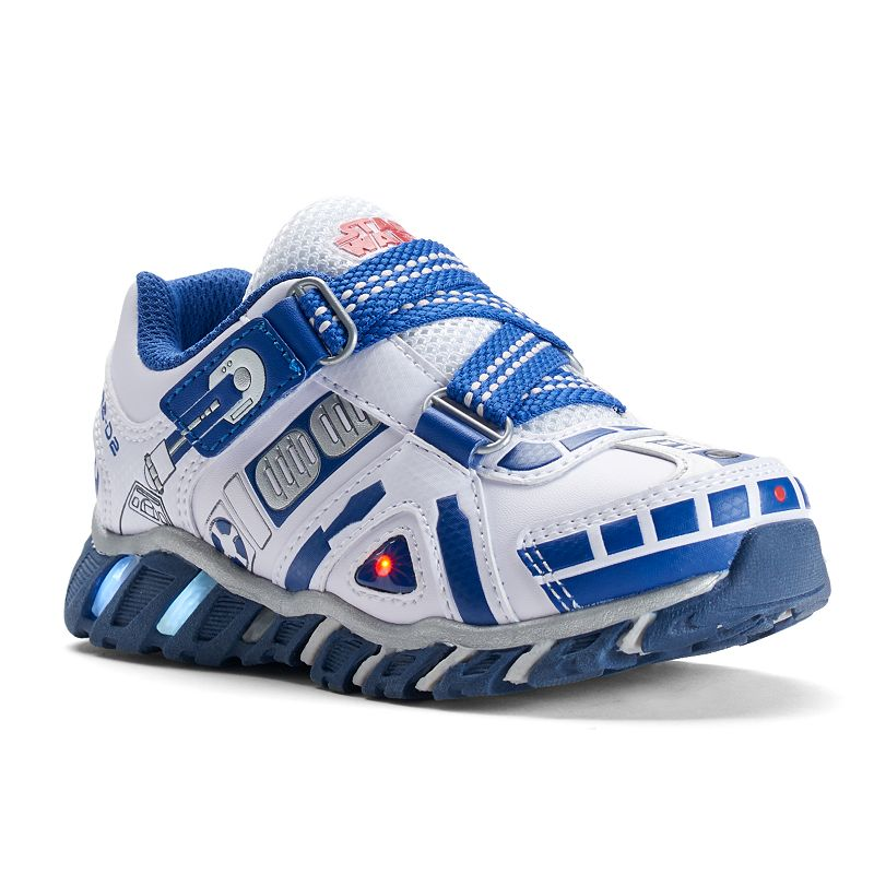 skechers star wars r2d2 kids 39 light up shoes boy 39 s size 1 purple oth. Black Bedroom Furniture Sets. Home Design Ideas