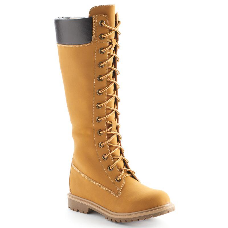 lace up zipper boots kohl s