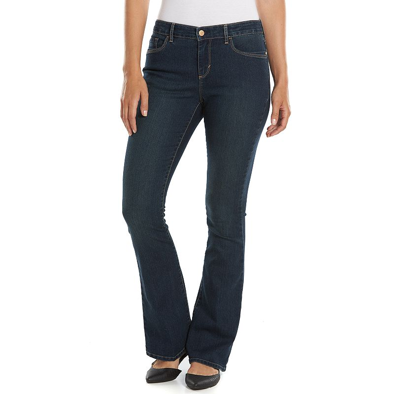 Gloria Vanderbilt Kim Flared Denim Skinny Jeans - Women's