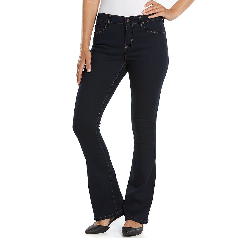Gloria Vanderbilt Kim Flared Denim Skinny Jeans - Women's