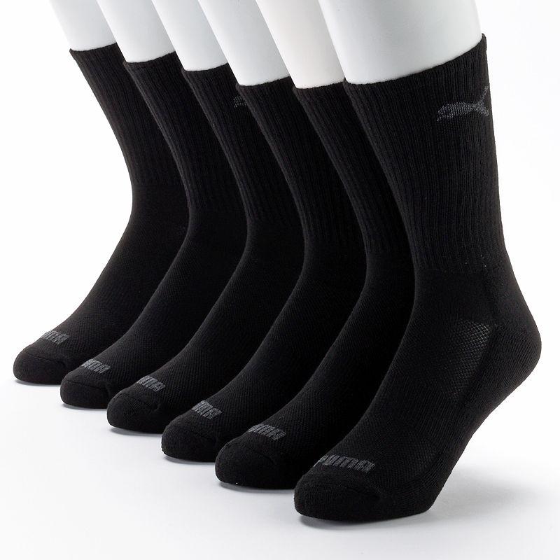 Men's PUMA 6-pack Performance Crew Socks