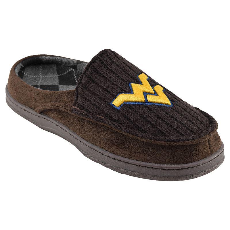 West Virginia Mountaineers Men's Slippers