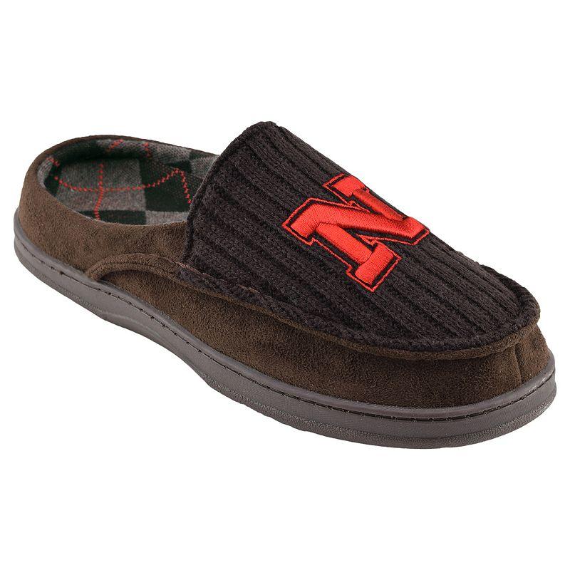 Nebraska Cornhuskers Men's Slippers
