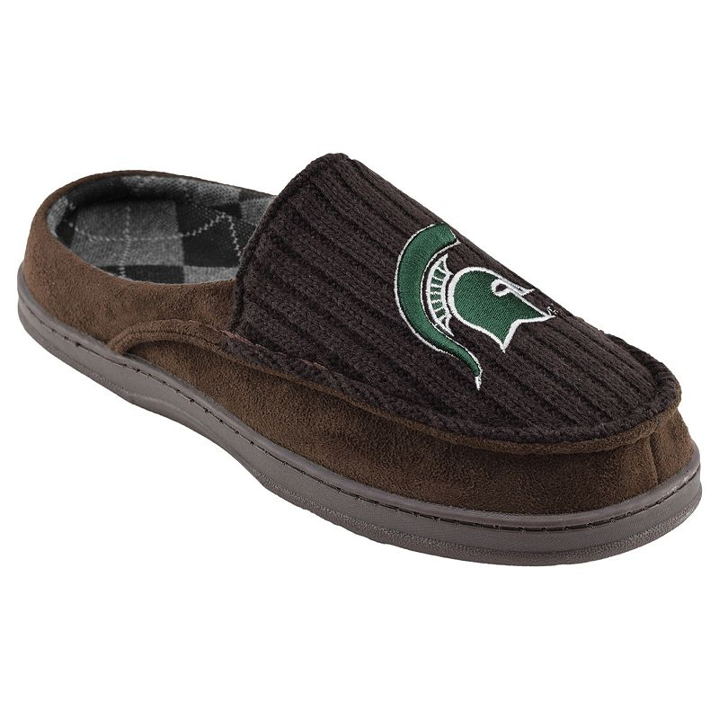 Michigan State Spartans Men's Slippers