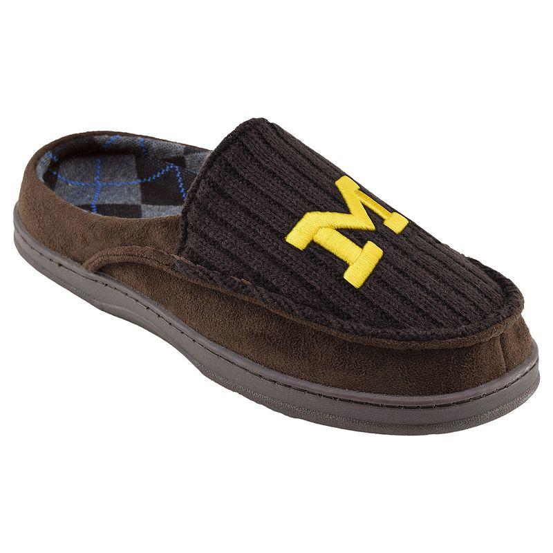 Men's Michigan Wolverines Slippers