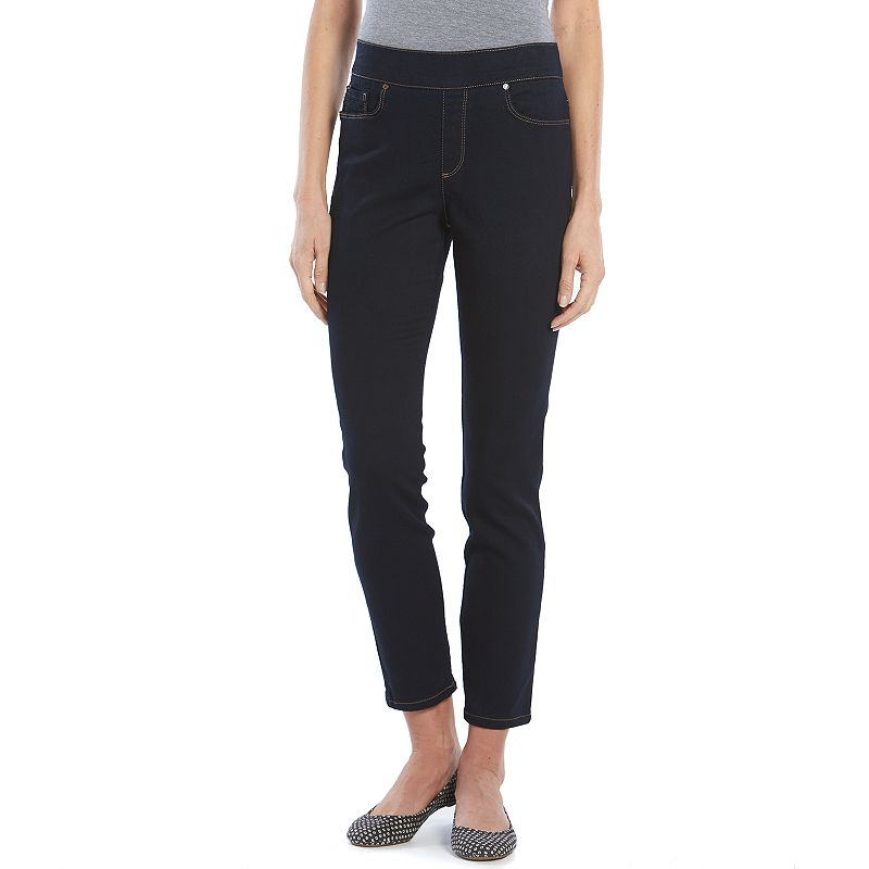 Women's Gloria Vanderbilt Polly Stretch Slim Straight Leg Jeans