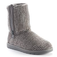 SO Women's Foldover Sweater Boots