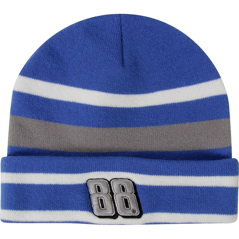 Adult Dale Earnhardt Jr. Striped Beanie