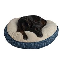 Pet Spaces 35-Inch Print Round Pet Bed