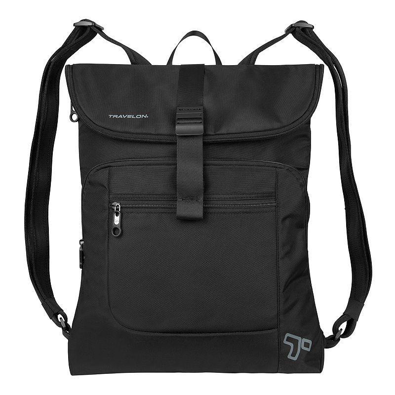 Travelon Anti-Theft Urban Flap-Over 15.6-inch Laptop Backpack