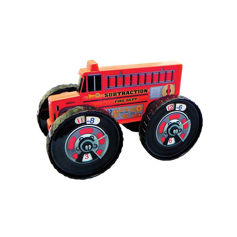 Junior Learning Subtraction Firetruck: A Hands-on Toy for Teaching Subtraction