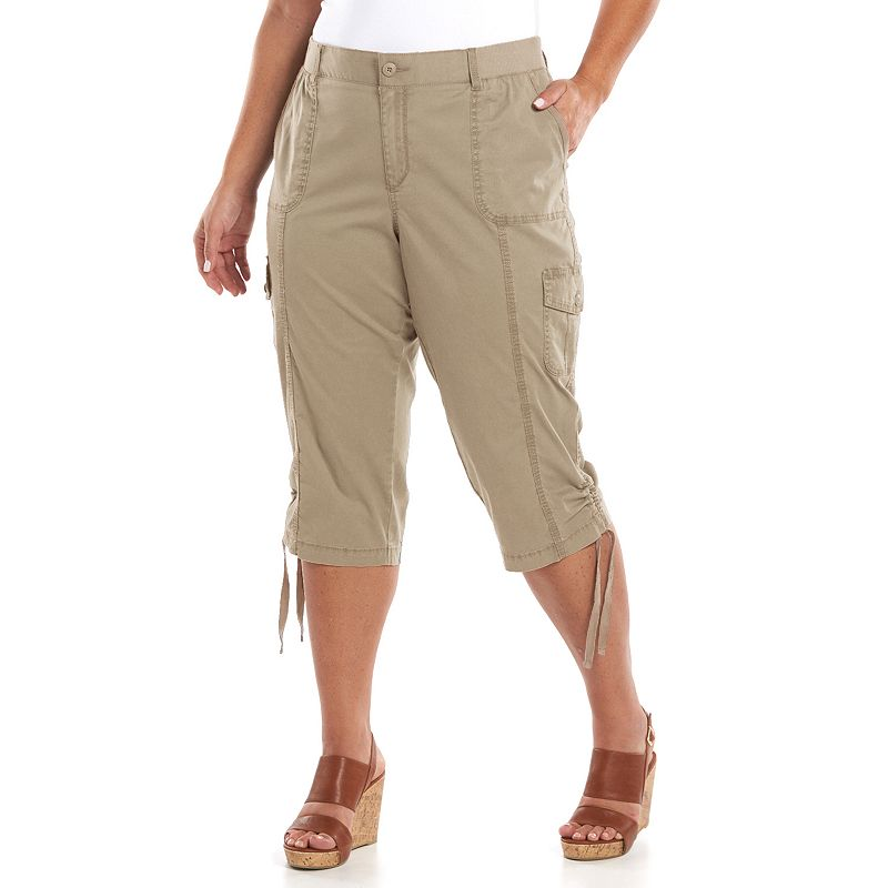 Spring Preview: Plus Size Capri Pants
