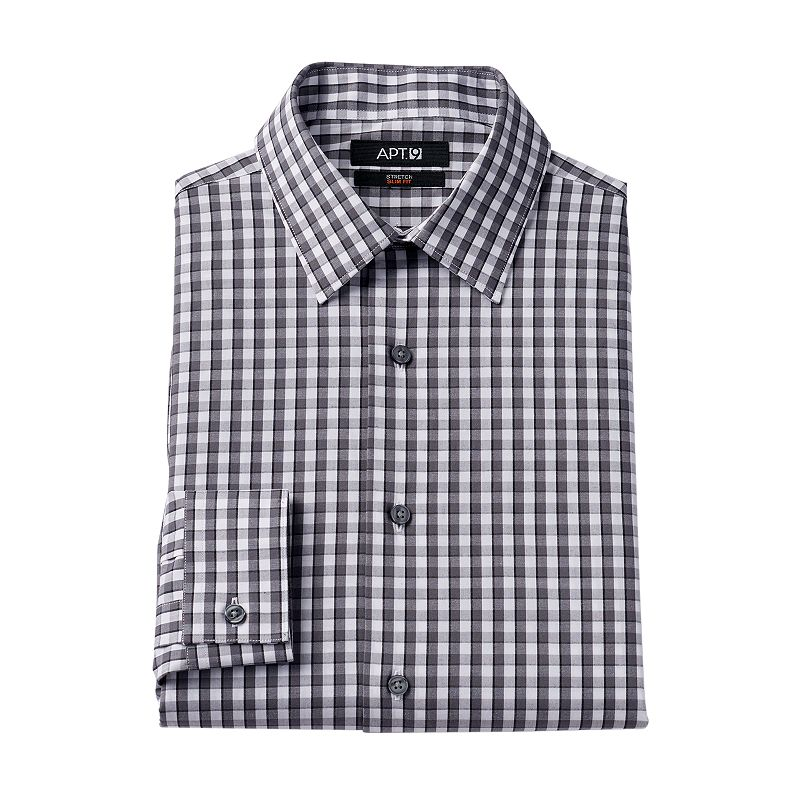 Men's Apt. 9 ® Slim-Fit Stretch Dress Shirt