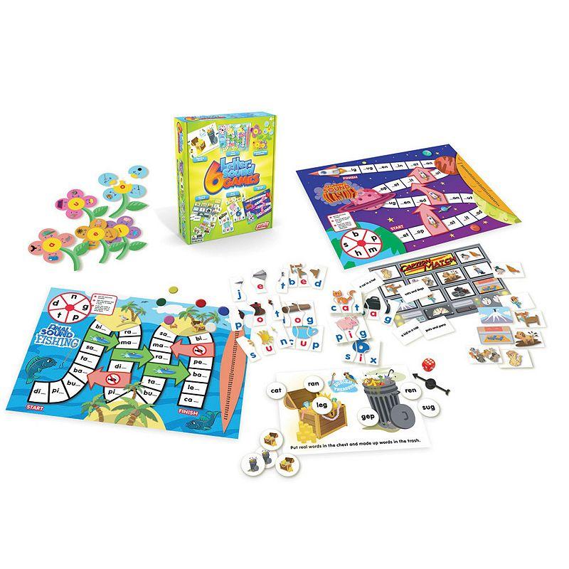 Junior Learning Letter Sound Games Pack