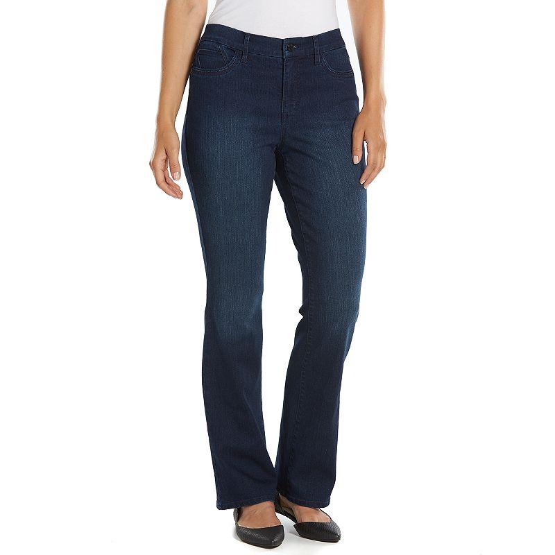 Gloria Vanderbilt Jordyn Curvy Denim Bootcut Jeans - Women's