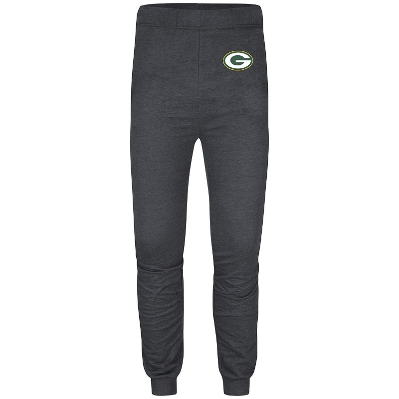 Men's Majestic Green Bay Packers High Step Jogger Pants