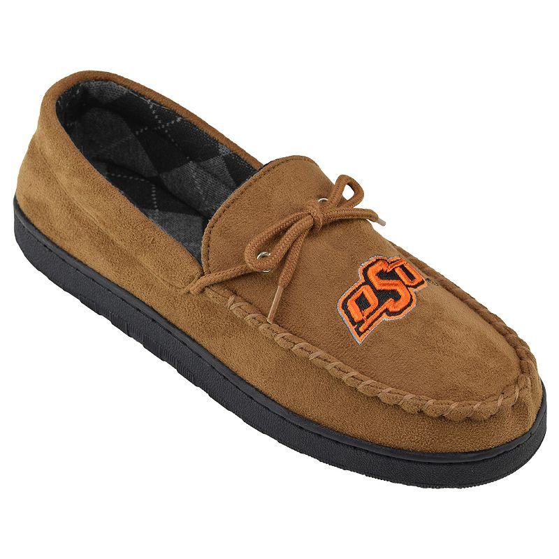 Men's Oklahoma State Cowboys Microsuede Moccasins