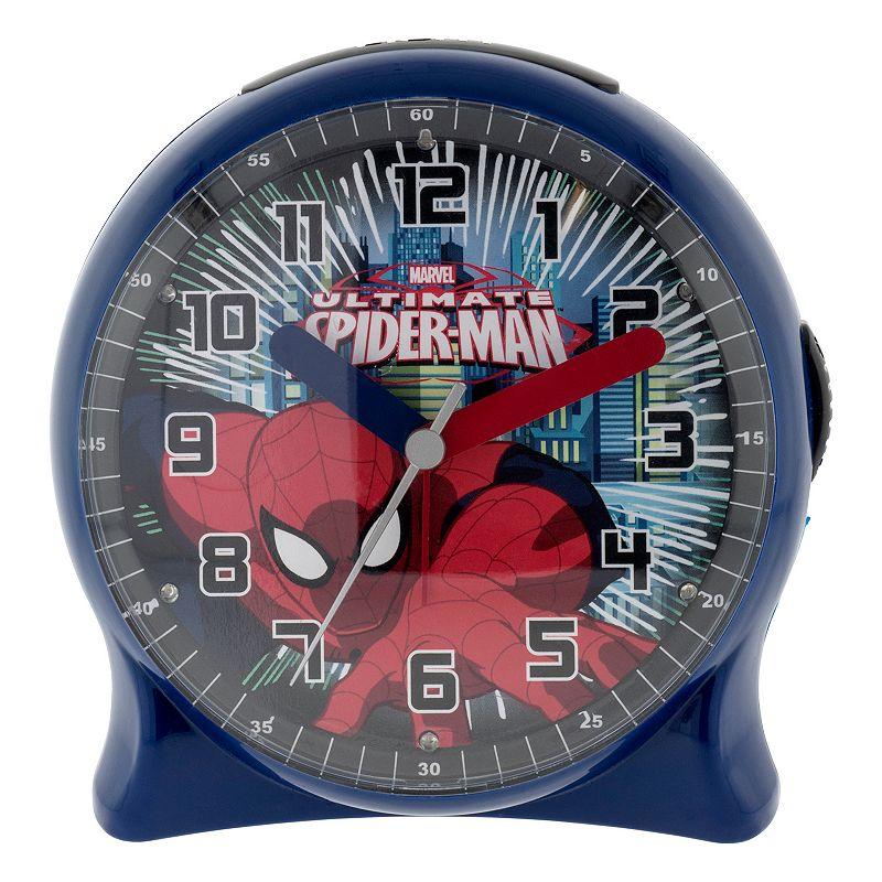 Marvel Spider-Man Light-Up Alarm Clock