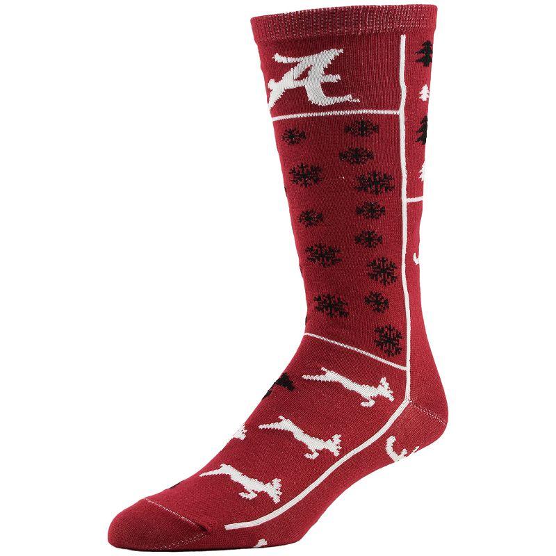 Women's Alabama Crimson Tide Ugly Sweater Crew Socks