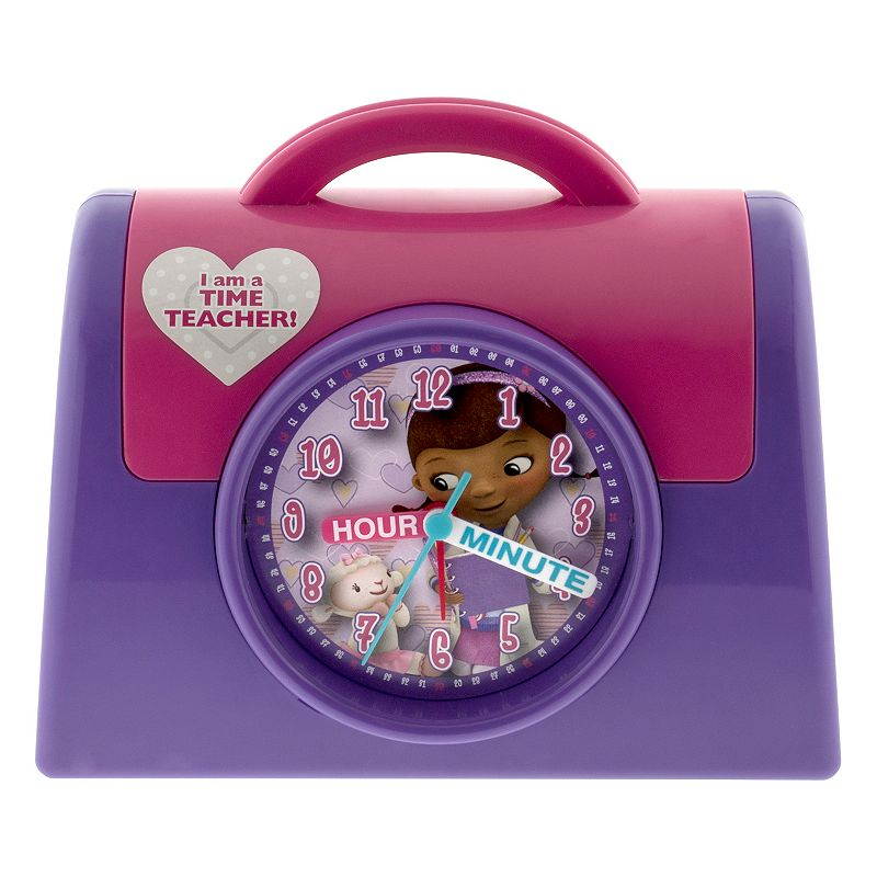 Doc McStuffins Sculpted Time Teacher Alarm Clock