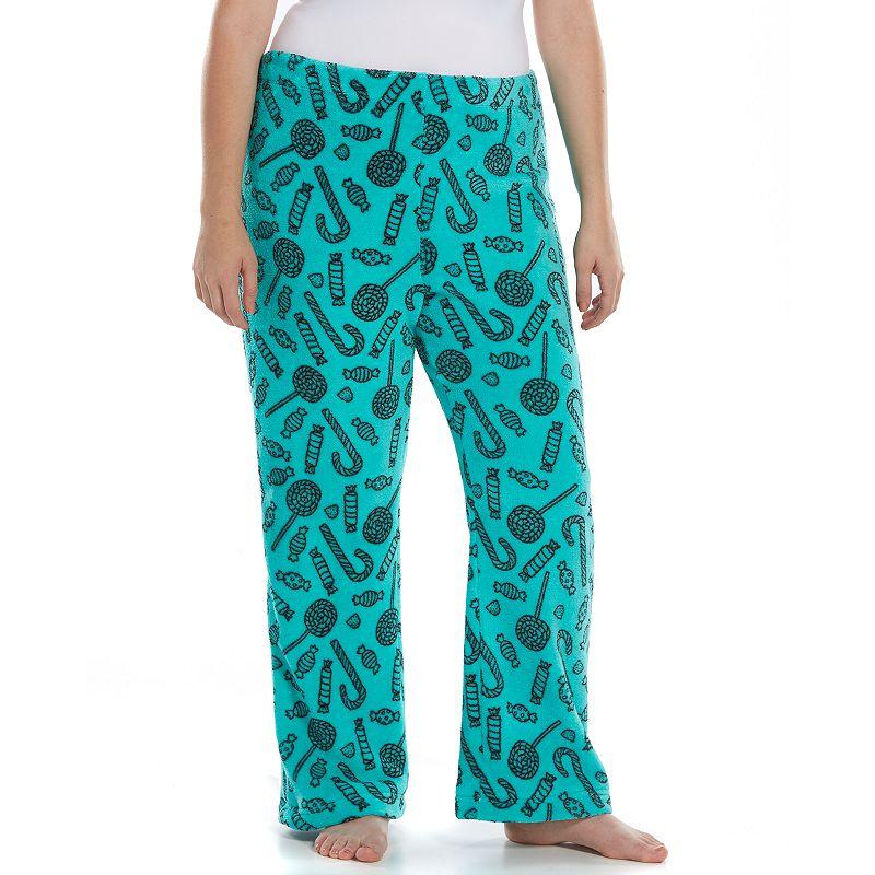Juniors' Plus Size SO® Pajamas: Plush Fleece Pajama Pants