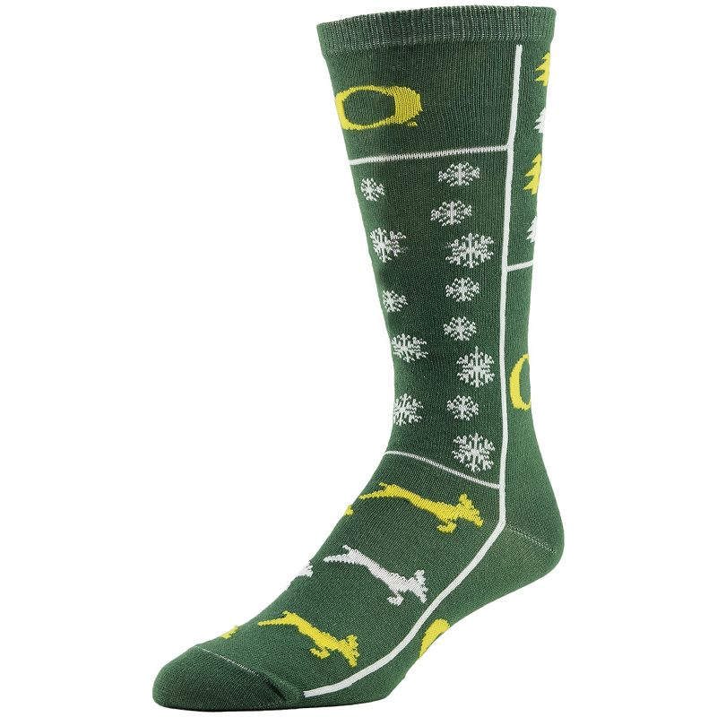 Men's Oregon Ducks Ugly Sweater Crew Socks