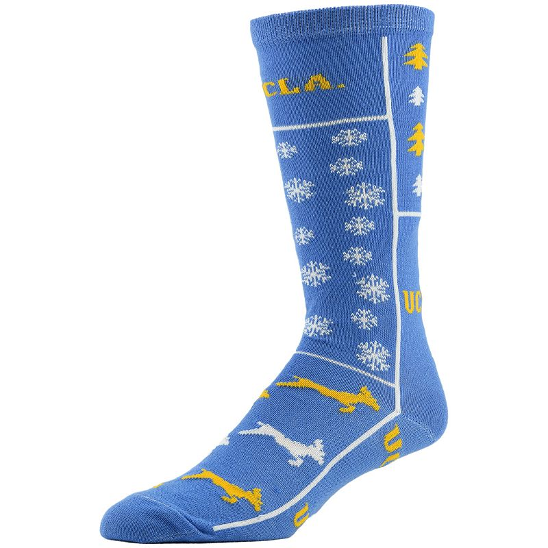 Men's UCLA Bruins Ugly Sweater Crew Socks