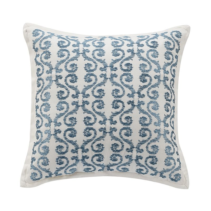 Williamsburg Randolph Embroidered Scroll Throw Pillow