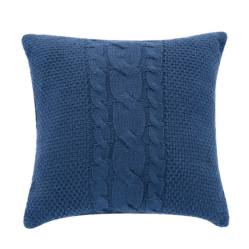 Colonial Williamsburg Randolph Cable-Knit Throw Pillow
