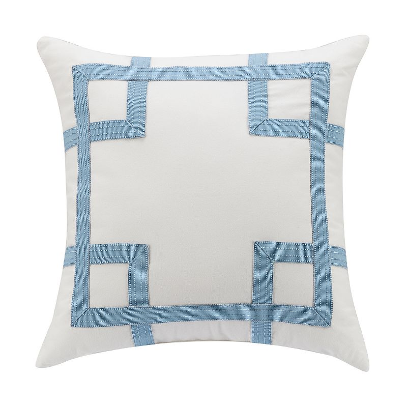 COLONIAL WILLIAMSBURG RANDOLPH THROW PILLOW (WHITE)