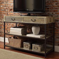 HomeVance Donovan Industrial TV Stand by