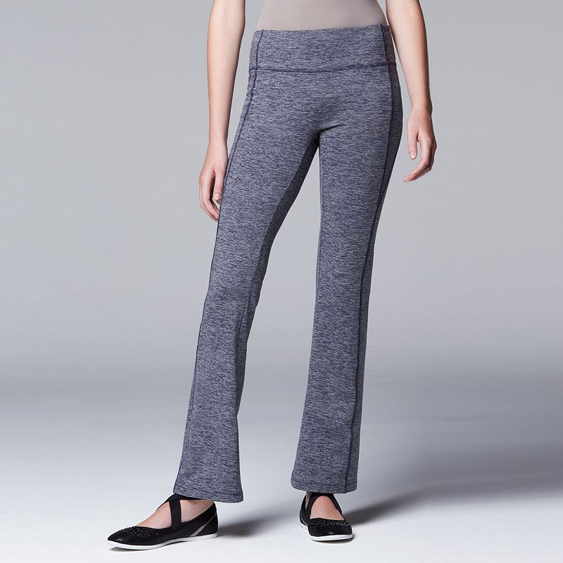Simply Vera Vera Wang Simply Breathe Yoga Pants - Women's
