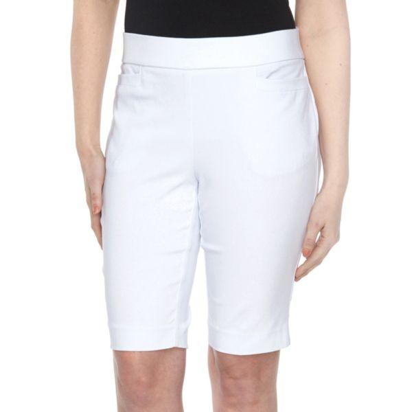Petite Briggs Slimming Solution Classic Fit Bermuda Shorts