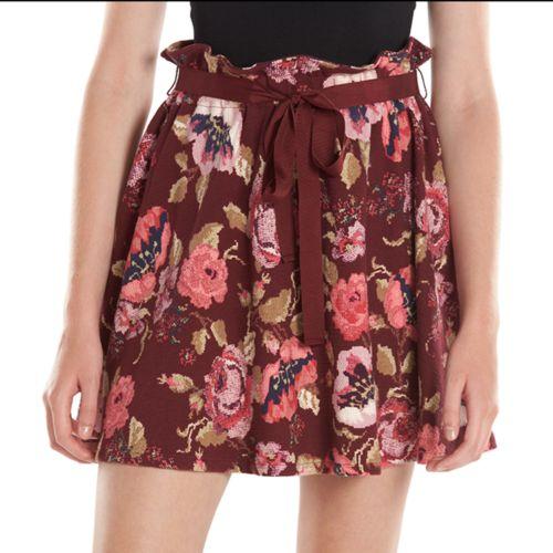 LC Lauren Conrad Floral Circle Skirt - Women's
