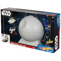 Star Wars Death Star Play Case & 4-pc. Starship Set by Hot Wheels