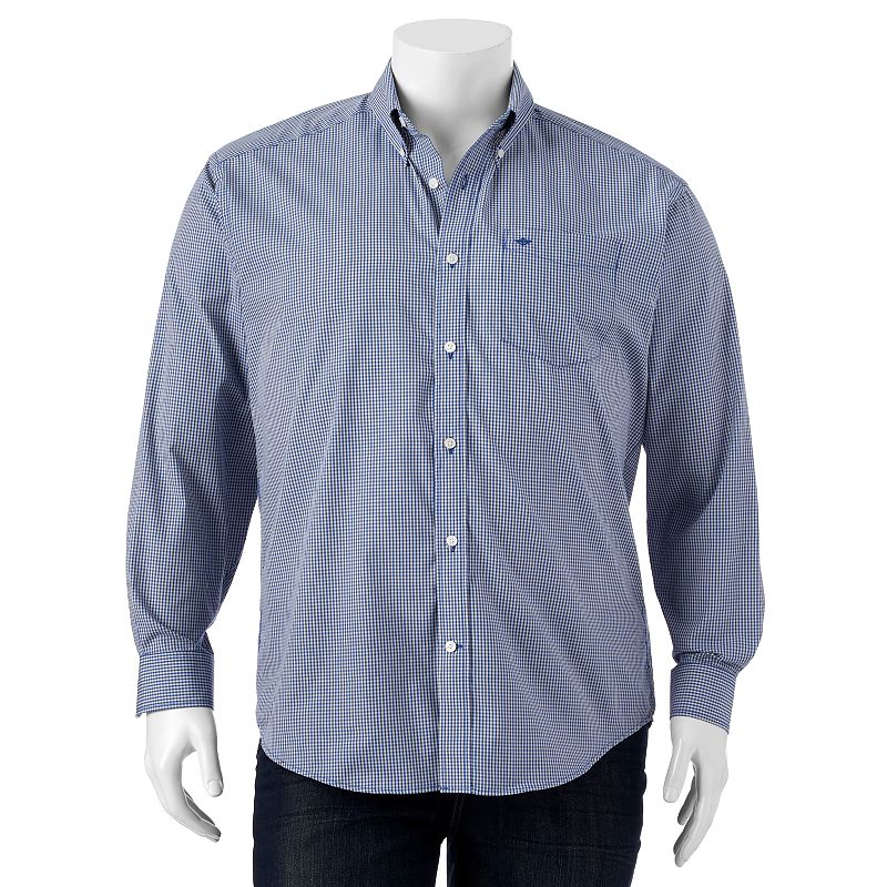 Big & Tall Dockers Checked Casual Button-Down Shirt