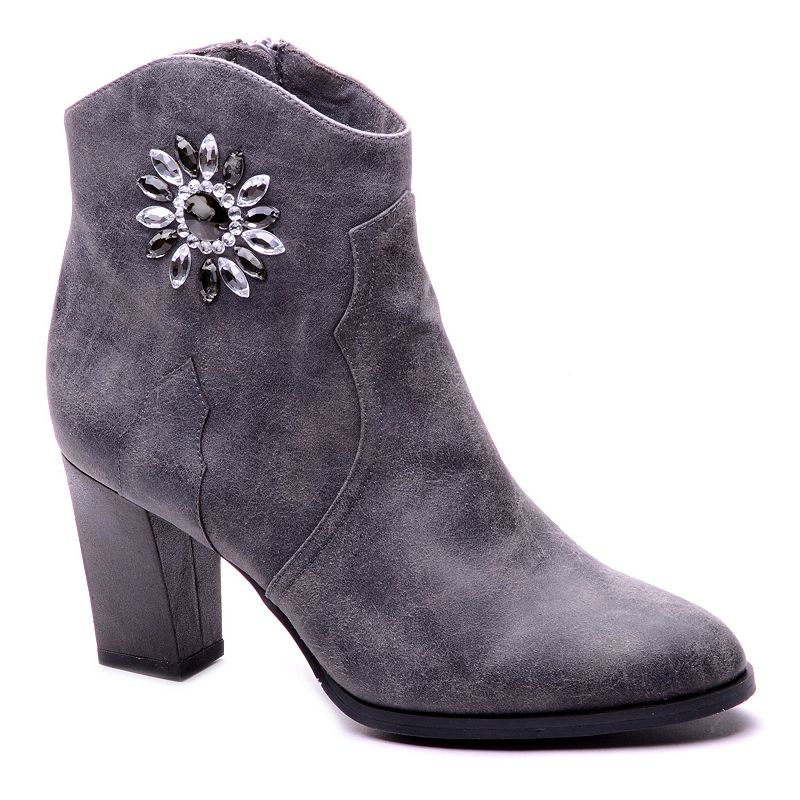 New York Transit Most Right Women's Embellished Ankle Booties