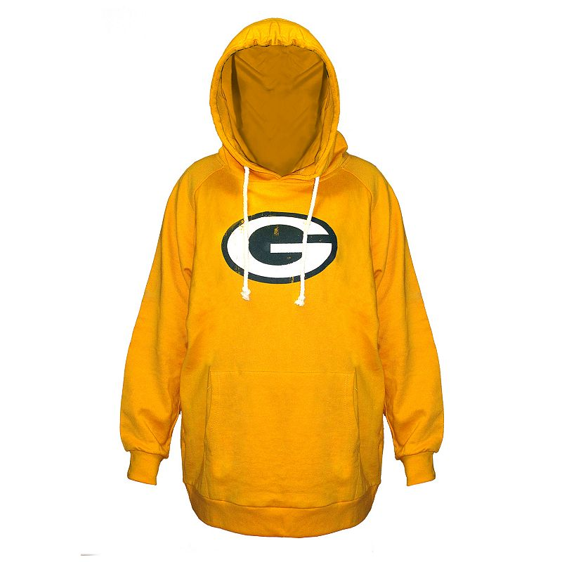 Plus Size Majestic Green Bay Packers Hoodie