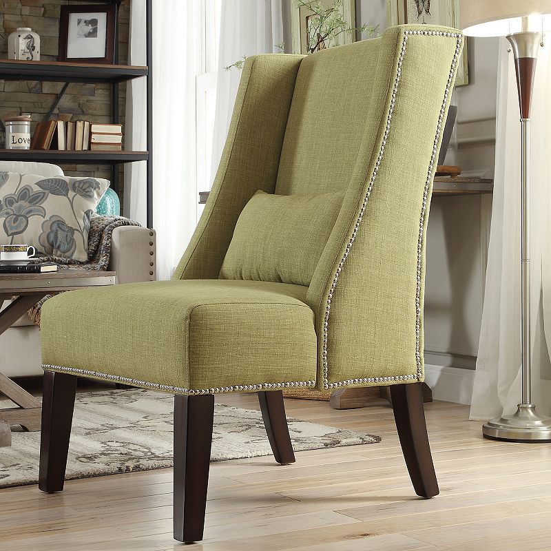 HomeVance Cameron Wingback Arm Chair