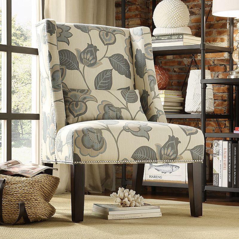 HomeVance Cameron Wingback Arm Chair