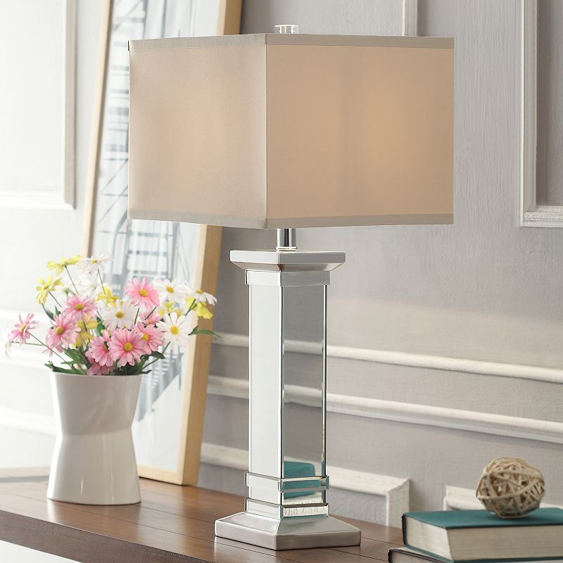 HomeVance Esther Mirrored Table Lamp