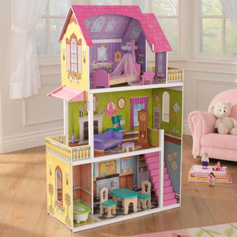 KidKraft Florence Dollhouse, Multicolor