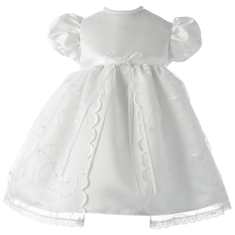 American Originals Embroidered Swirl Organza Dress - Baby Girl