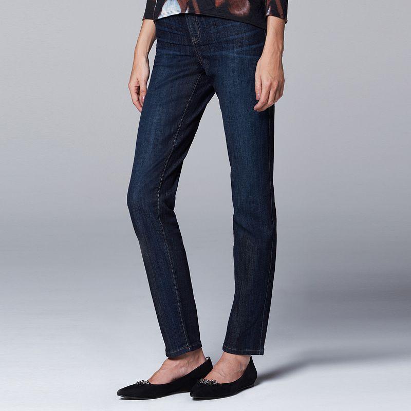 Women's Simply Vera Vera Wang Slimming Skinny Jeans