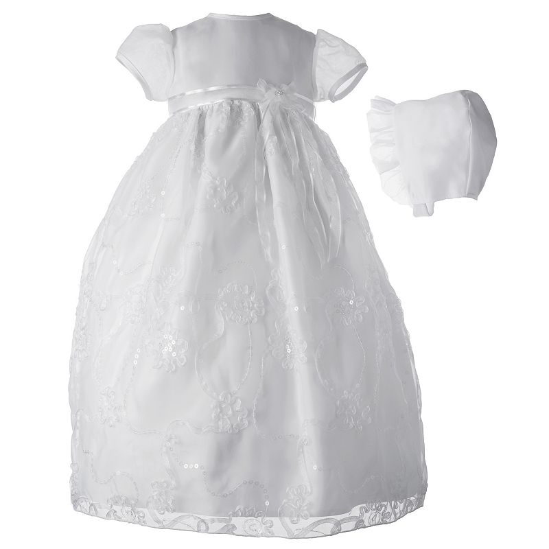 American Originals Floral Organza Dress - Baby Girl
