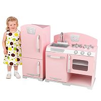 KidKraft Retro Kitchen & Refrigerator Play Set
