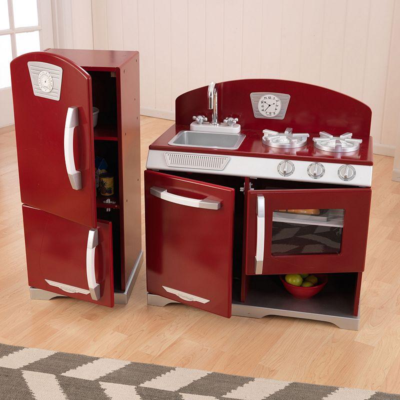 Kidkraft Retro Kitchen Refrigerator Play Set