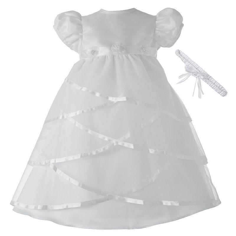 American Originals Criss-Cross Satin Dress - Baby Girl
